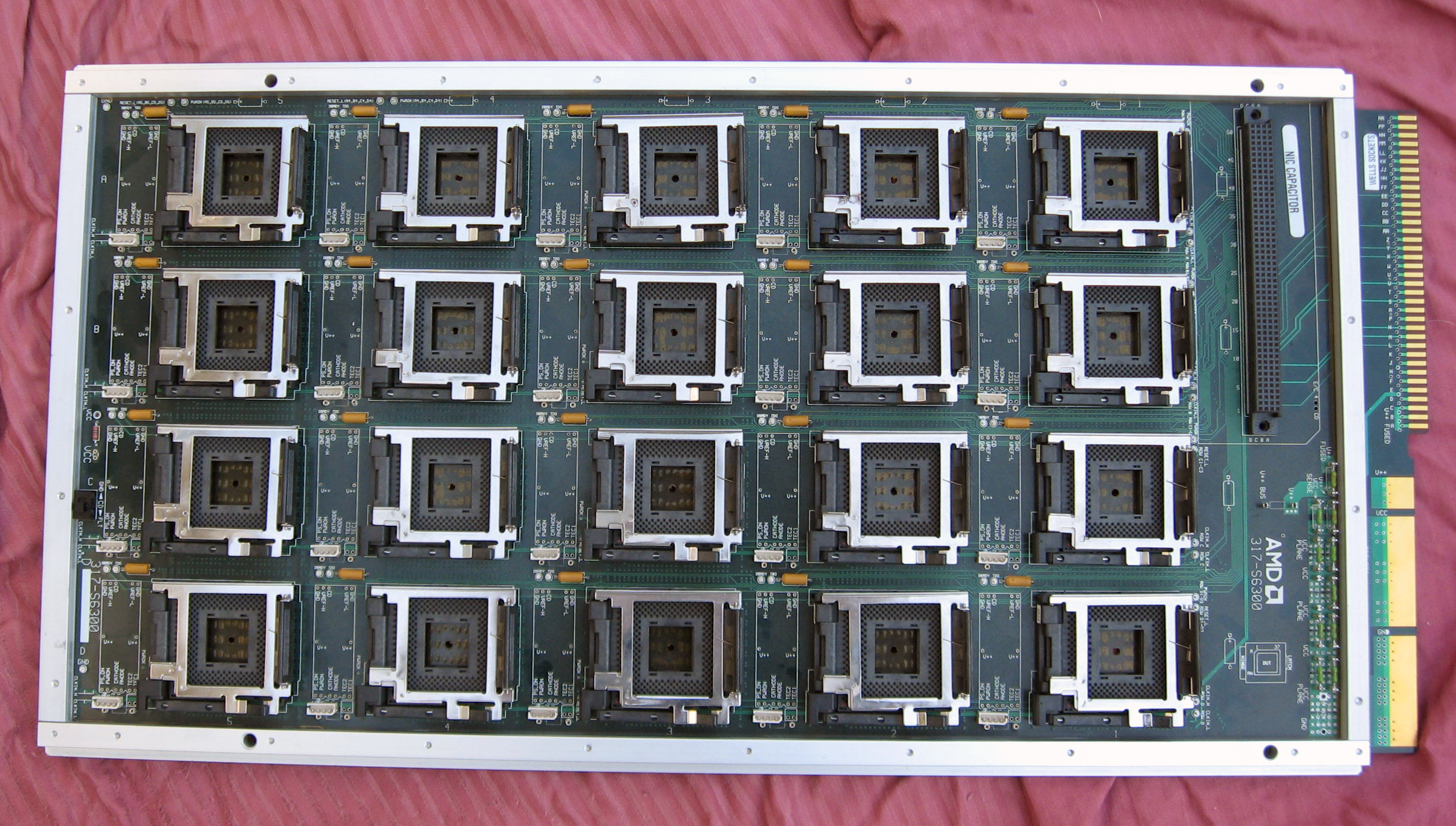 AMD 20 socket test board
